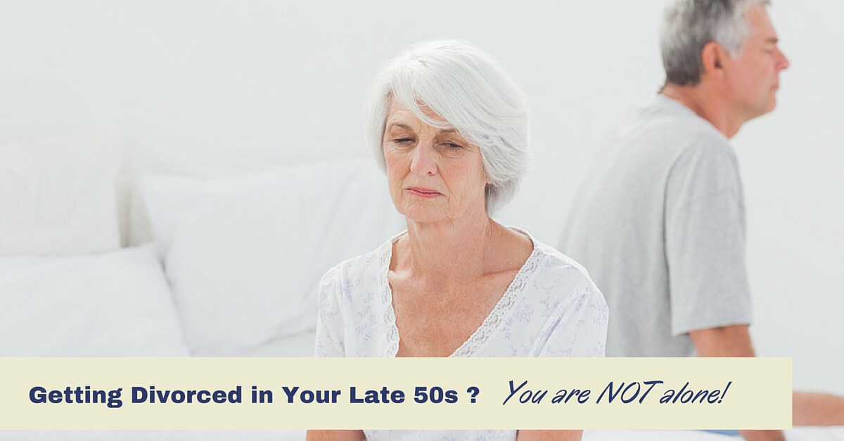 Divorce in your 50s